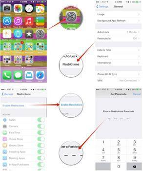 como usar controles parentais no iphone e ipad