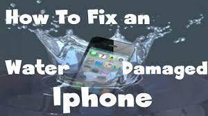 Como reparar um iPhone molhado que caiu na água