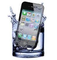 como reparar um iphone molhado que caiu na agua