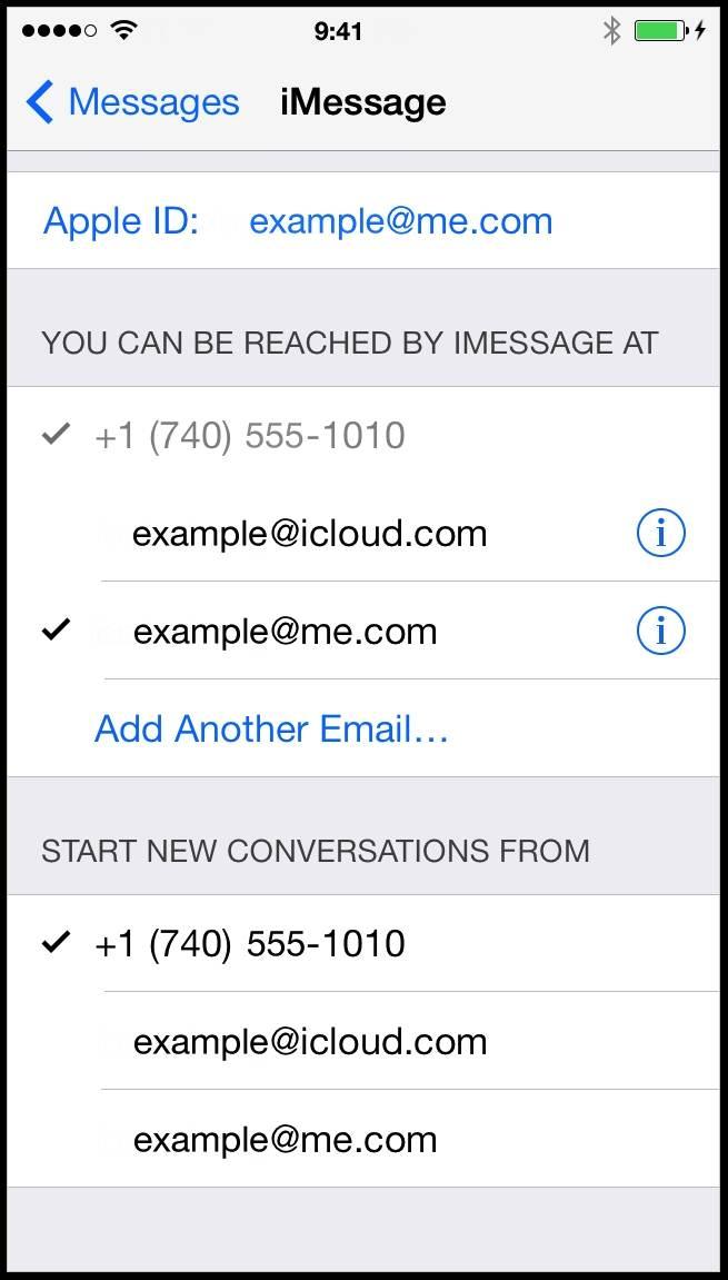 iphone nao e possivel enviar mensagens a partir do iphone dispositivos android