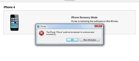7 maneiras de resolver iphone erro 21 enquanto restaurando iphone