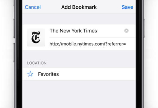 recuperar marcadores excluidos em um iphone