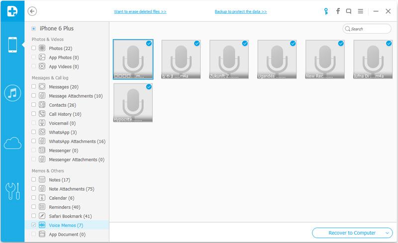 como restaurar memorias de voz para iphone ipad ipod touch