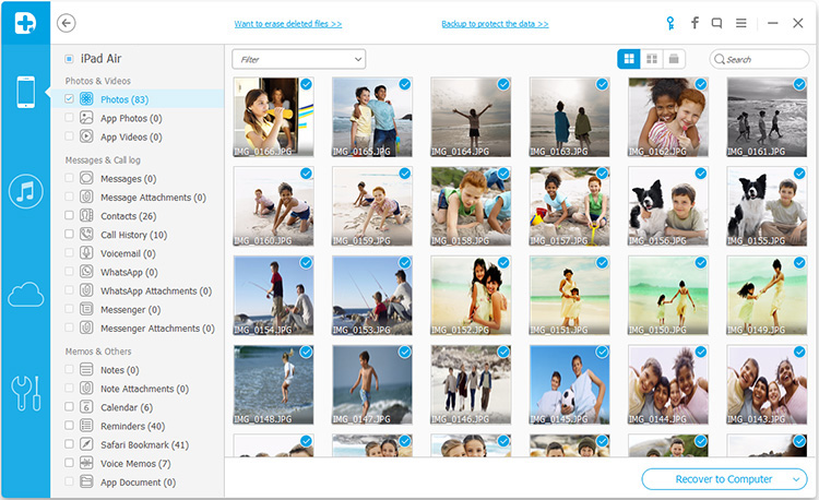 notas excluidas calendario fotos contatos e vidoes de ipad ios 9 incluiu