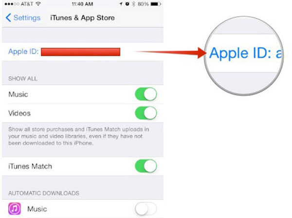 alterar contas do itunes no seu iphone ou ipad