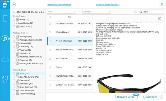 como posso ver os arquivos de backup do itunes em um pc ou mac