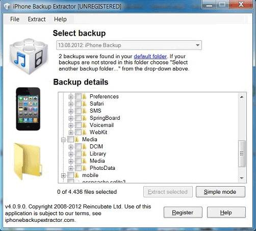 extravao itunes backup backup iphone extractor
