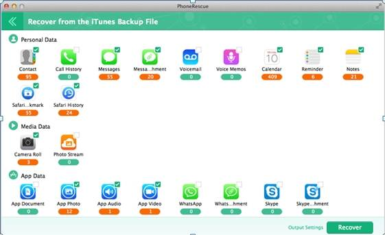backup do itunes extractor resgate de telefone
