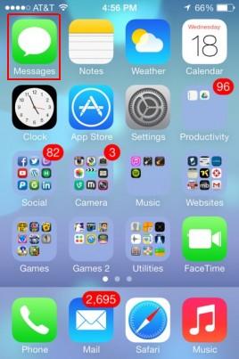apagando mensagens de texto no ios 7 ios 8 e 9 ios