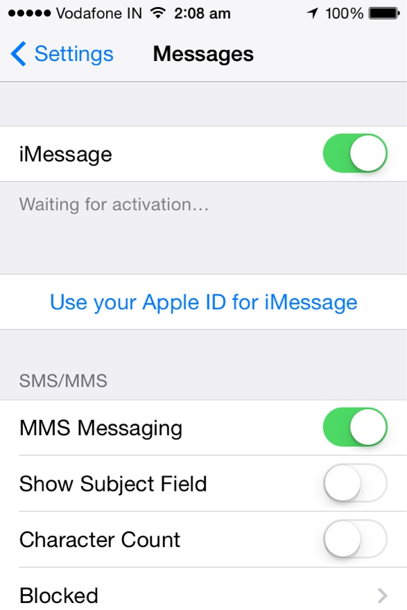 passos faceis para sincronizar o imessage atraves de multiplos dispositivos