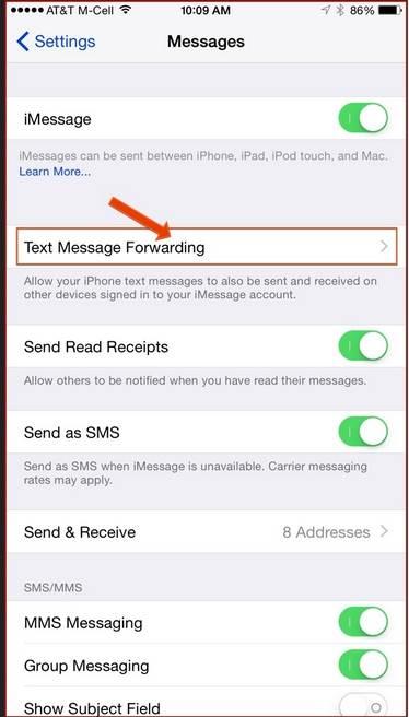 por que nao consigo receber ou enviar sms normalmente no meu iphone