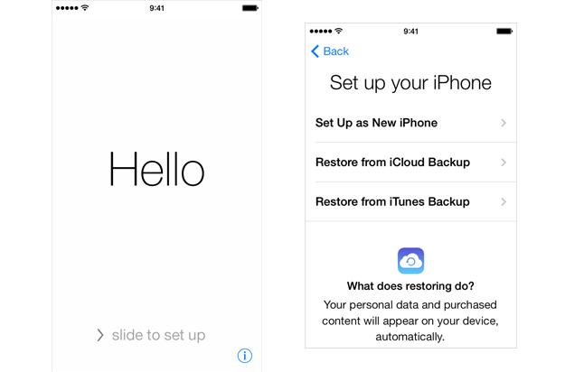 restaurar mensagens excluidas do iphone atraves do backup do icloud