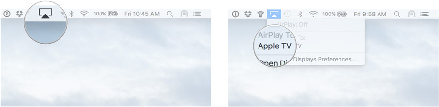 use airplay on mac