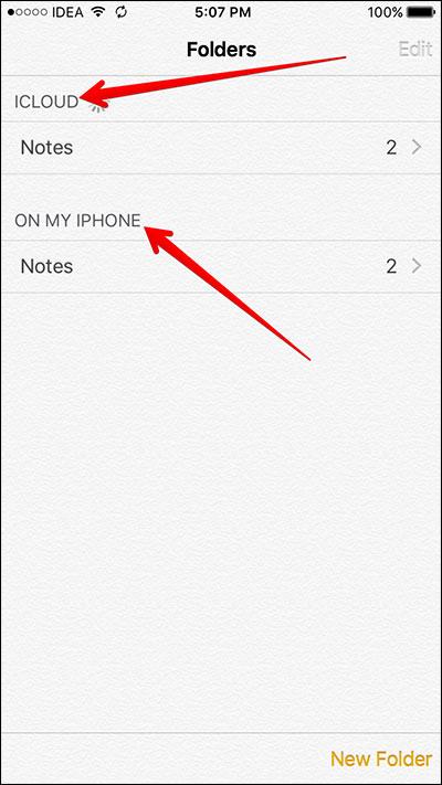 como ver as notas o no iphone