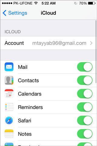 5 metodos para transferir notas a partir de um iphone a um pc  icloud