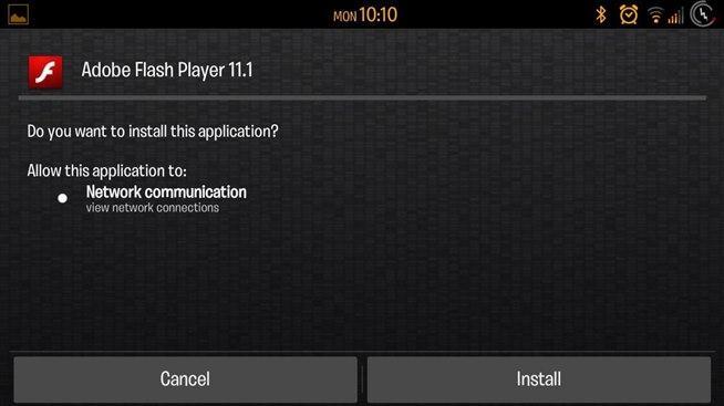 como instalar o flash em smartphones samsung