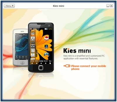 como usar o samsung kies mini para windows