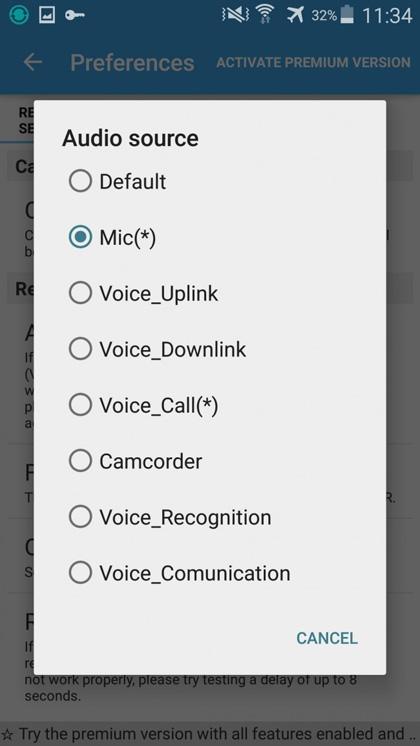 gravador de chamadas android