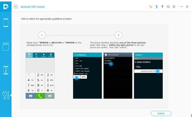 desbloquear o sim usando o dr fone android desbloquear cartao sim