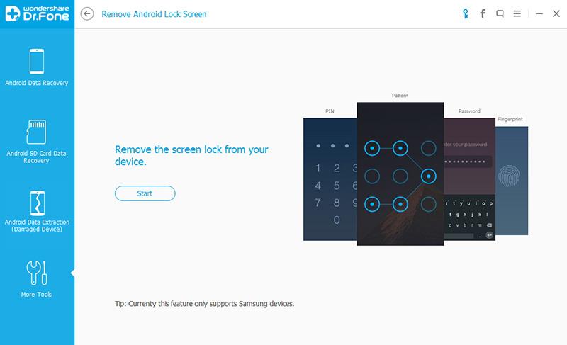 desbloquear a tela do lg com o remocao do bloqueio de tela android