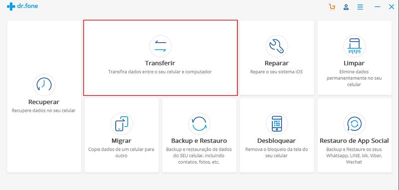 transferencia de dados entre iphone