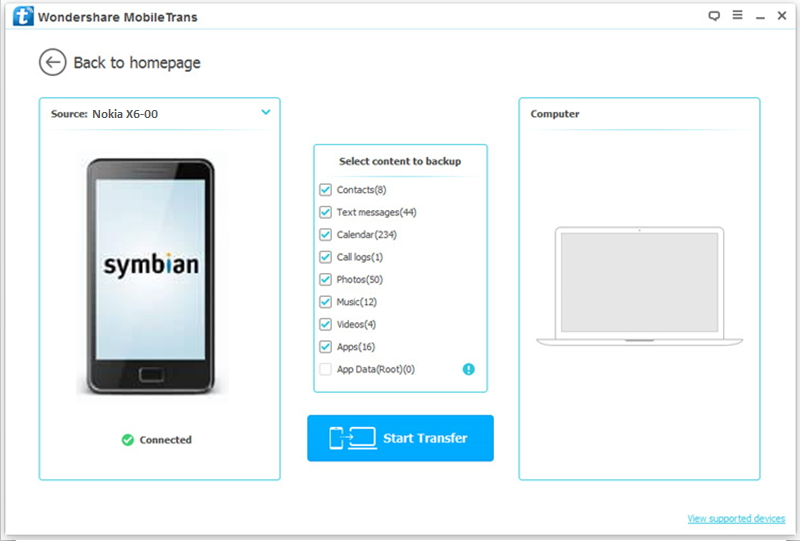 fazer backup do telefone nokia symbian para pc em 1 clique com o mobiletrans