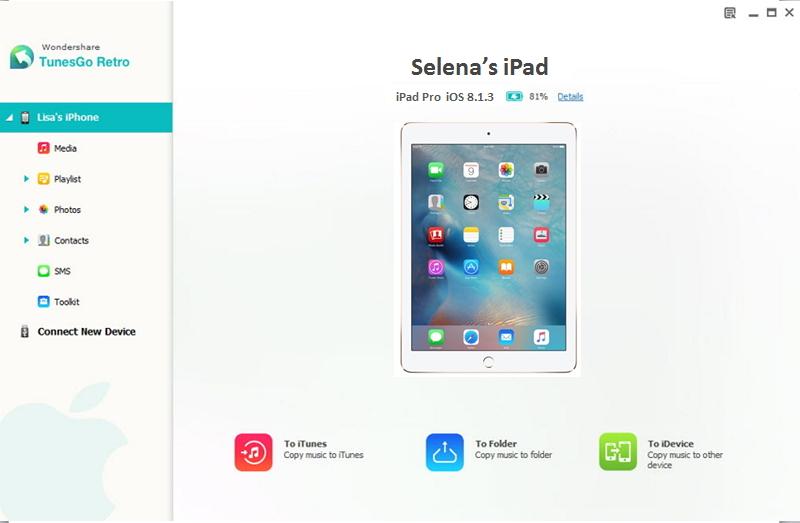 transferir musicas do ipad para ipod facilmente
