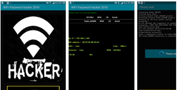 Aplicaciones para robar WiFi Hackear wifi desde Android.