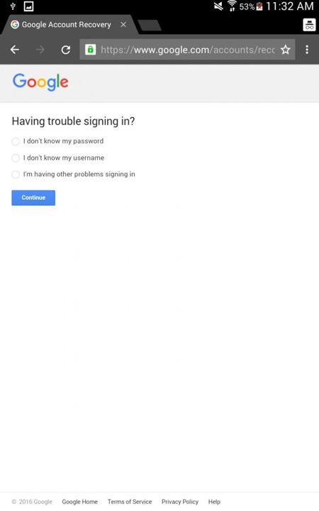 como fazer reset a sua conta google no seu android