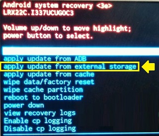 Desbloquear ecra android