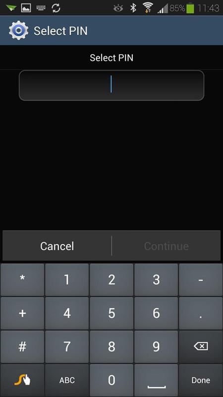 diferentes metodos de desbloqueio para o seu android