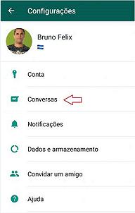 como o whatsApp cria um backup automático no google drive