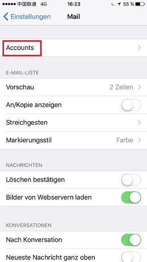 iPhone-Kontakte direkt mit Gmail synchronisieren