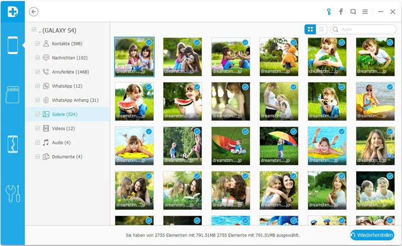 how to recover deleted pictures from android