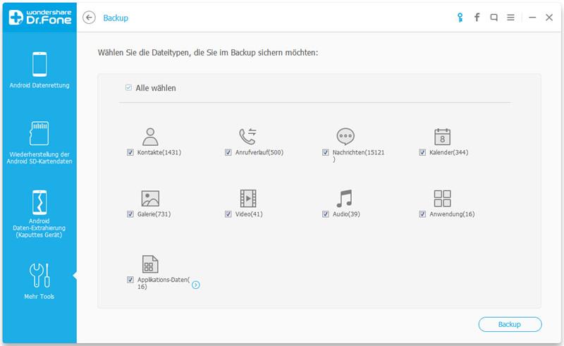 Samsung Backup: Anleitung zum Backup von Samsung Galaxy Geräten