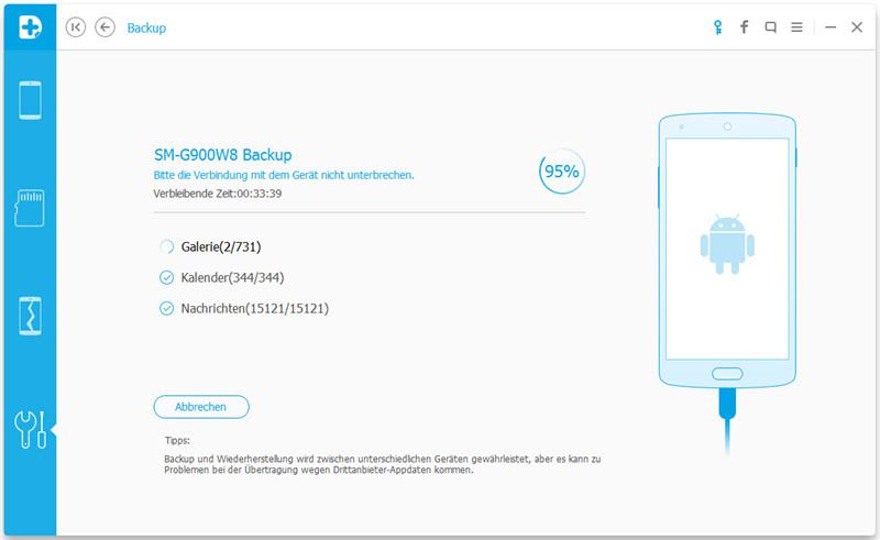 Drfone backup Samsung