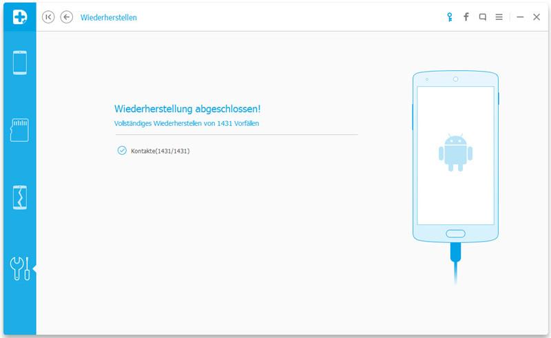 Gesicherte Android-Appdaten wiederherstellen