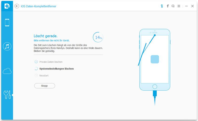 iPhone-Werksreset ohne iTunes