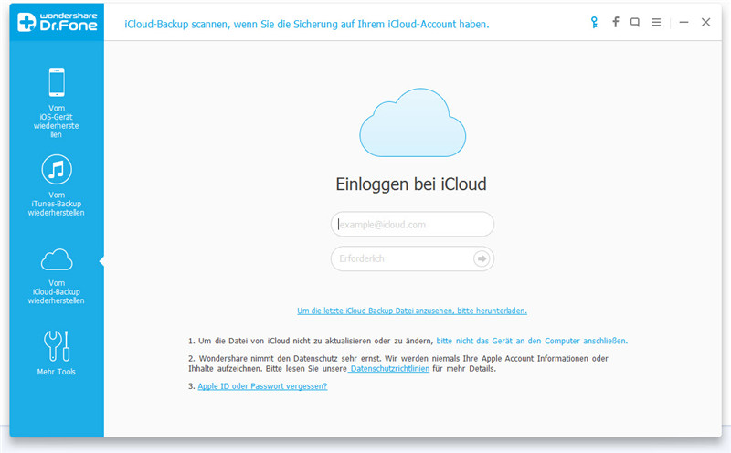 how to restore from icloud backup iphone