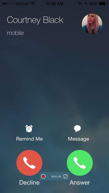iPhone Anruf-Rekorder