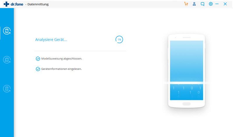 Android-Gerät analysieren
