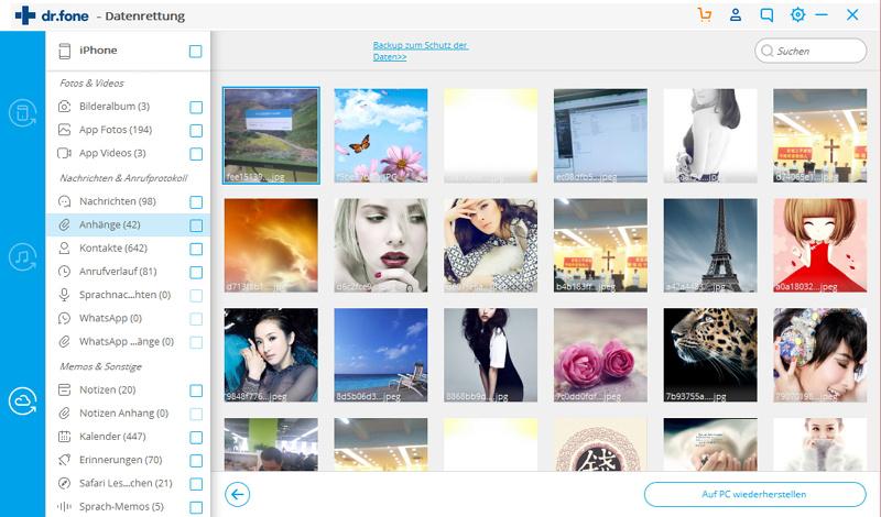 Fotos direkt von der iCloud auf dem PC restaurieren (iPhone, iPad or iPod werden nicht benötigt)