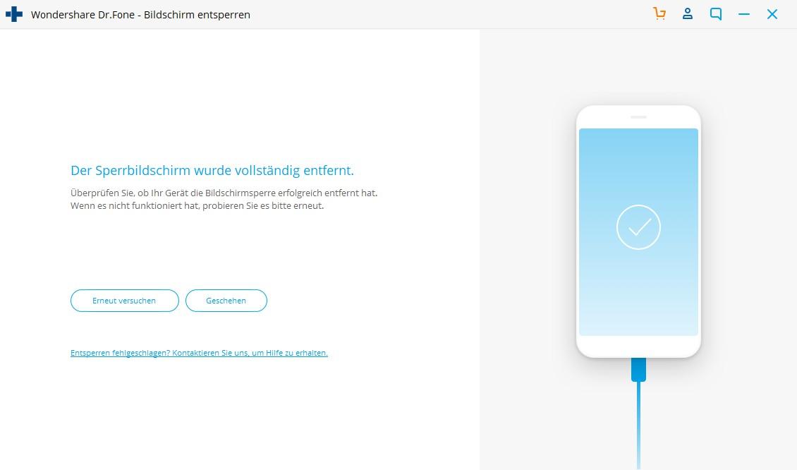 Starten Sie iPhone ohne Apple ID zurückzusetzen