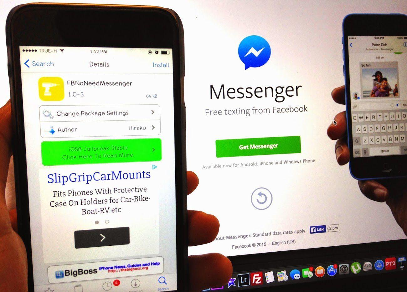 how to see facebook messages without messenger app