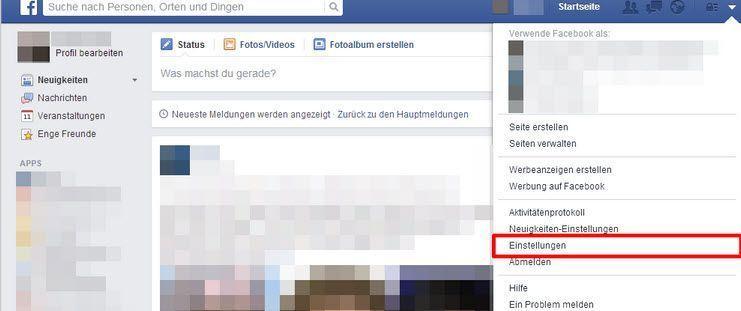 So lassen sich Facebook Nachrichten exportieren und drucken