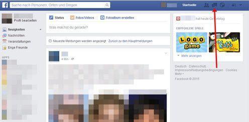 Alte Facebooke Nachrichten lesen