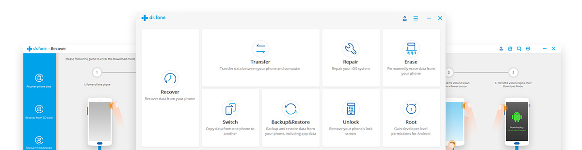 drfone android backup restore