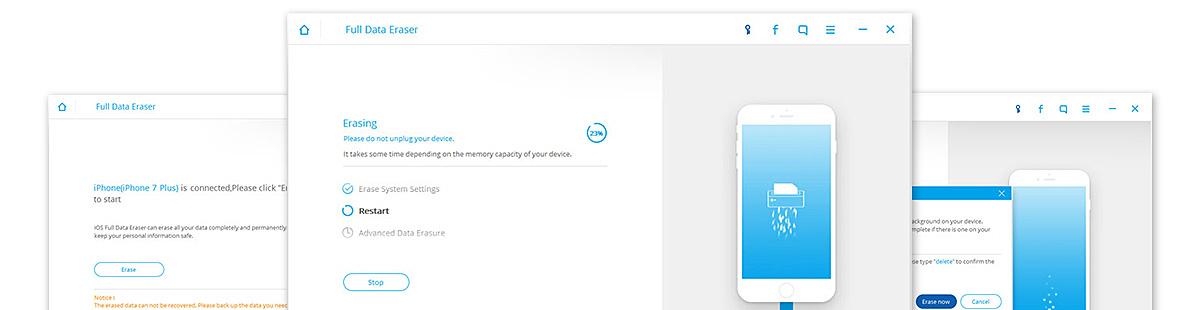 drfone iphone full data eraser