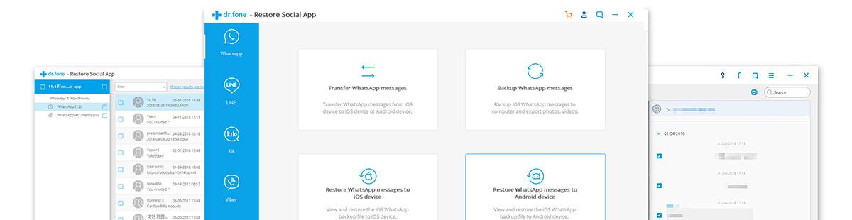 restaurar respaldo de transferencia de ios whatsapp
