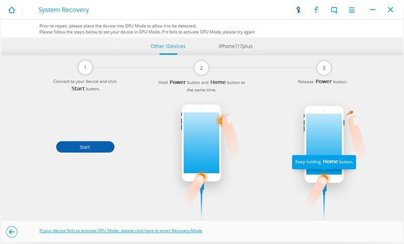 Как сделать рекавери айфон